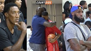 Download NBA Players' Kids in ACTION! Bronny James, Shareef O'Neal, Cole Anthony, Bol Bol and MORE! Video