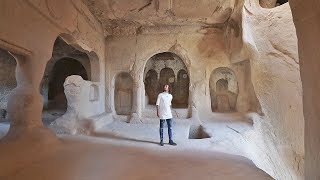Download Las personas aquí viven en cuevas | CAPADOCIA - TURQUÍA Video