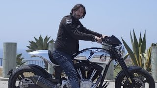 Download Keanu Reeves Wants to Build a $78,000 Motorcycle Just for You Video