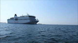 Download Viking Cinderella Grace Tallink Silja Galaxy Baltic Princess 02 06 2013 Video