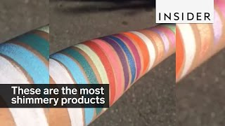 Download This brand has the most shimmery products ever Video