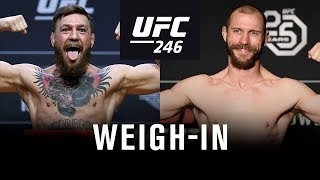 Download UFC 246: Weigh-in Video