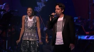 Download Lin-Manuel Miranda changes Hamilton lyrics for Hillary Clinton Video