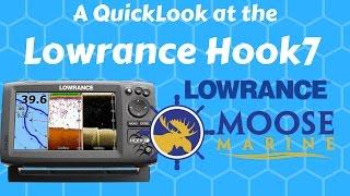 Download Lowrance HOOK 7 QuickLook with Moose - Moose Marine Video