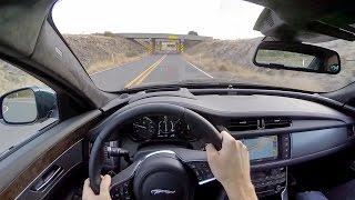 Download 2016 Jaguar XF R-Sport - WR TV POV Test Drive Video