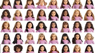Download ALL AMERICAN GIRL TRULY ME DOLLS NUMBERED! Video