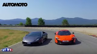 Download Défi : Lamborghini Huracan vs McLaren 650S Video