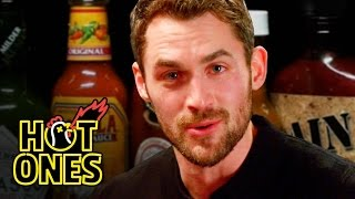 Download Kevin Love Gets Dunked On By Spicy Wings   Hot Ones Video