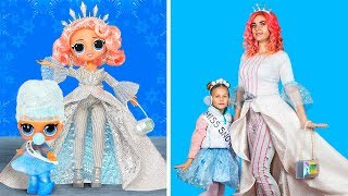 Download LOL Surprise in Real Life / 11 DIY LOL Christmas Clothes Ideas Video