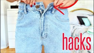 Download 9 Jean HACKS EVERY Girl MUST Know !! Video