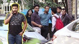 Download Answering Phone LOUDLY in Public Prank / Talking Loudly on Phone Prank- Baap of bakchod - Raj Video