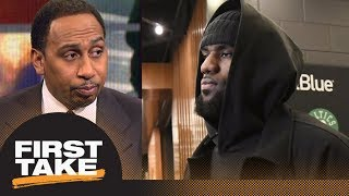 Download Stephen A. Smith is 'sick' of the LeBron James topics | First Take | ESPN Video