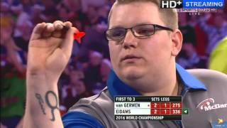 Download ALMOST THE BIGGEST SHOCK IN WORLD DARTS HISTORY - Michael van Gerwen vs Rene Eidams - First Round Video