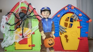 Download Paw Patrol Pretend Play Halloween Trick Or Treating for Candy Video