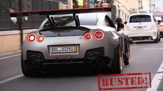 Download 1850HP Nissan GTR FROM HELL!!..Busted by the Police! Video