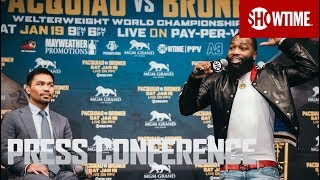 Download Pacquiao vs. Broner: Fight Week Press Conference | SHOWTIME PPV Video