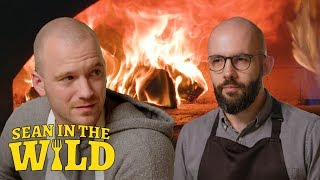 Download Binging with Babish and Sean Evans Battle to Make the Perfect Filled Calzone | Sean in the Wild Video