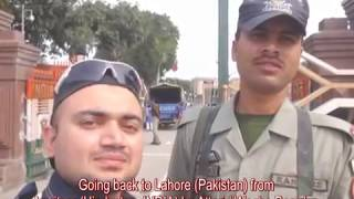 Download Amritsar (India) to Lahore (Pakistan) By Road (Attari Wagha Boarder). Video