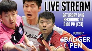 Download 2017 Butterfly Badger Open Live Stream Video