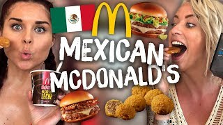 Download Americans Try Mexican McDonald's for the First Time! Video