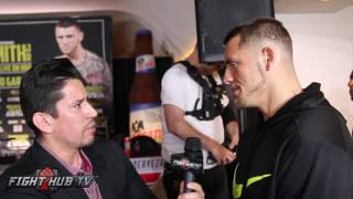 Download Joe Smith Jr. reacts to Bernard Hopkins going off on him & calling him ″common″ Video