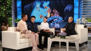 Download Will Smith Used His 'Fresh Prince' Persona as Inspiration for Genie in 'Aladdin' Video