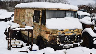 Download Mercedes-Benz 407D Cold Start After 12 Years (1080p) Video