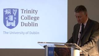 Download Provost, Dr Patrick Prendergast speaks at Trinity research showcase in Boston, MA Video