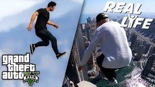 Download GTA 5 VS REAL LIFE 5 ! (fun, fail, stunt, ...) Video