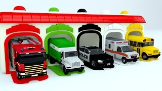 Download Colors for Children to Learn with Street Vehicles - Colours for Kids to Learn - Learning Videos Video