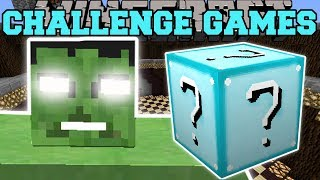 Download Minecraft: THE HULK CHALLENGE GAMES - Lucky Block Mod - Modded Mini-Game Video