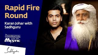 Download Rapid Fire Round – Karan Johar with Sadhguru Video