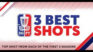 Download Three Years - Three Shots   Top Three shots on the Disc Golf Pro Tour Video