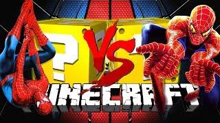 Download Minecraft: SPIDERMAN LUCKY BLOCK CHALLENGE | DEATH RUN CHALLENGE!! Video