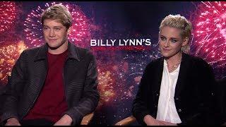 Download BILLY LYNN'S LONG HALFTIME WALK: Backstage w/ Kristen Stewart & Joe Alwyn Video