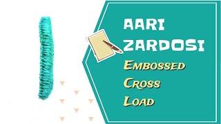 Download Aari Zardosi - DIY - Embossed Cross Load (TAMIL) Video