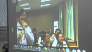 Download Skype with China: Springfield High School Video