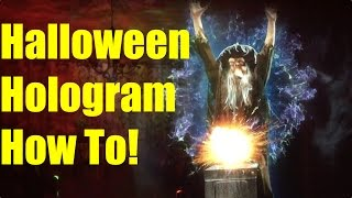 Download How to Make a Hologram Illusion for Halloween - Step by Step Tutorial for AtmosFearFX! Video