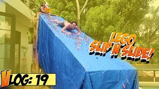 Download LEGO SLIP N SLIDE (Painful!) at Team 10 House Video