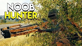 Download THE NOOB HUNTER! (Crossbow Only) - PlayerUnknown's Battlegrounds (PUBG) Video