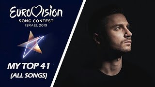 Download Eurovision 2019 | My Top 41 (Before The Show) Video