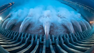 Download Emergency water discharge from the dam TOP 25 -=HD=- Video