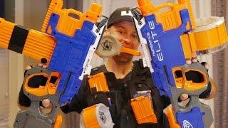 Download Nerf Elite HYPERFIRE Blaster | Nerf Gun Review & Unboxing in 4K! Video