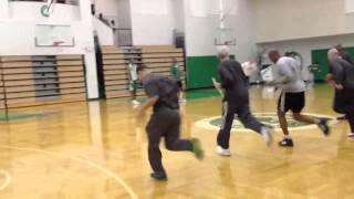Download Celtics coaches run wind sprints Video