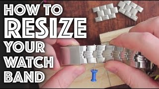Download How to Resize / Adjust a Watch Band Video