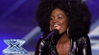 Download Lillie McCloud - Crowd-Surprising Cover of CeCe Winans' ″Alabaster Box″ - THE X FACTOR USA 2013 Video
