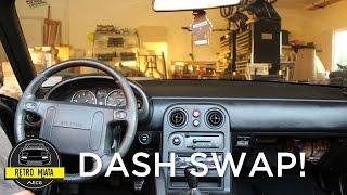 Download Retro Miata Gets NA6 Dash Swap! Video