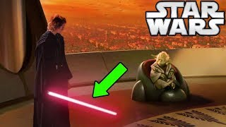 Download Why Anakin's Lightsaber DIDN'T Turn RED After Killing Younglings (CANON) - Star Wars Explained Video