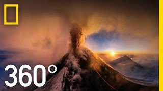 Download 360° Kamchatka Volcano Eruption | National Geographic Video