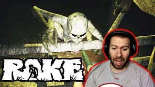 Download Rake Multiplayer Part 1: HE'S CLIMBIN' IN YO WINDOWS!!!! Video